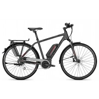 Bicicleta electrica Focus Aventura2 8G DI 28 greymatt 36v/11,0ah 2018 - 550mm (L)
