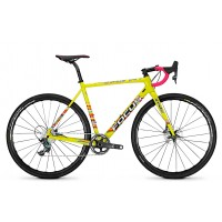 Bicicleta Focus Mares Sram Force 1 11G yellowfreestyle 2018 - 540mm (M)