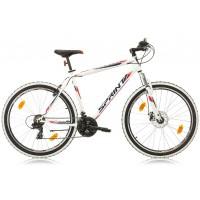 Bicicleta Sprint Tornado 27.5 alb/rosu 2018-480 mm