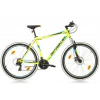 Bicicleta Sprint Tornado 27.5 verde/cyan 2018-480 mm