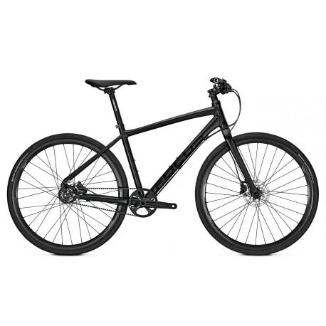 Bicicleta Focus Planet 8G DI 28 magicblackmatt 2018 - 500mm (L)