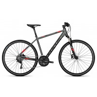 Bicicleta Focus Crater Lake Pro 30G DI 28 irongreymatt 2018 - 550mm (L)