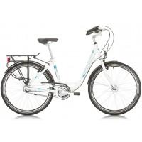 Bicicleta Sprint Solara Lady Nexus 26 alba 2017-430 mm