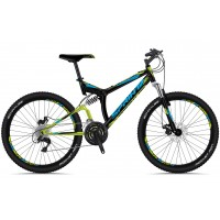 Bicicleta Sprint Element DB 26 negru/verde 2018-460 mm