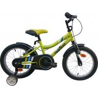 Bicicleta copii Robike Ronny 16 verde/negru