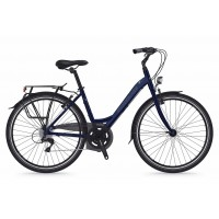 Bicicleta Shockblaze Emotion 6v Lady navy pearl 43 cm