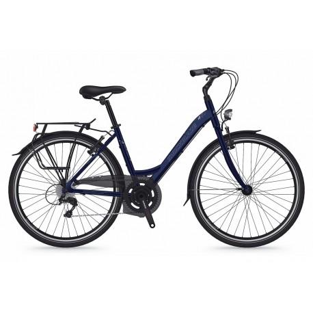 Bicicleta Shockblaze Emotion 6v Lady navy pearl 43 cm