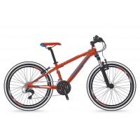 Bicicleta Shockblaze Ride 24 18v rosu lucios 2018