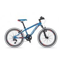 Bicicleta Shockblaze Ride 20 6v albastru lucios 2018