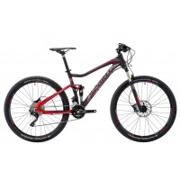 Bicicleta Sprint Addicted Elite 27.5 negru/rosu 2016 44 cm