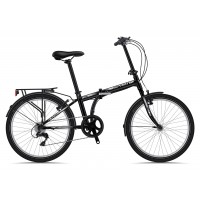 Bicicleta Sprint Urban 24 7v negru/alb 2018