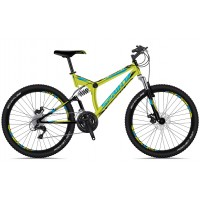 Bicicleta Sprint Element DB 26 verde/negru 2018-460 mm
