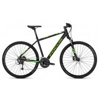 Bicicleta Focus Crater Lake Lite 27G DI 28 magicblackmatt 2018 - 550mm(L)