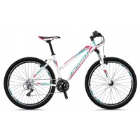 Bicicleta Dynamic Lady 26 alb/menta/roz 2018 - 430mm