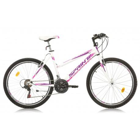 Bicicleta Sprint Active LD 26 alba 2018-480 mm