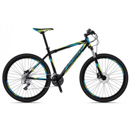 Bicicleta Sprint Maverick 27,5 negru/cyan/verde 2018-480 mm