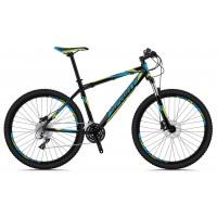 Bicicleta Sprint Maverick 27,5 negru/cyan/verde 2018-530 mm