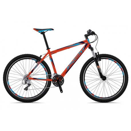 Bicicleta Sprint Dynamic 29 rosu/cyan/albastru 2018-520 mm