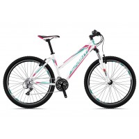 Bicicleta Sprint Dynamic LD 26 alb/verde/roz 2018-480 mm
