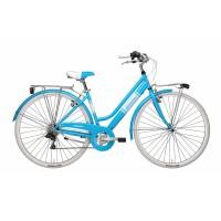 Bicicleta Adriatica Panarea Donna 28 albastra 45 cm