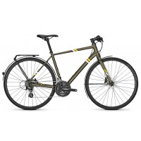 Bicicleta Focus Arriba Altus Plus 24G DI darkolivegreenmatt 2018 - 500mm (M)