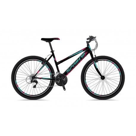 Bicicleta Sprint Active LD 26 Negru 2018-430 mm