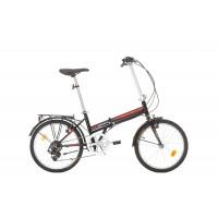 Bicicleta pliabila Bikesport Nomad 20 neagra