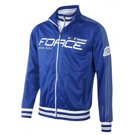 Bluza Force 1991 cu maneci lungi albastra L