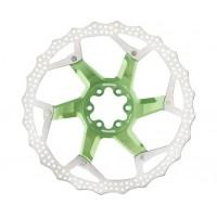 Disc frana Reverse Discrotor 203mm aluminiu/otel verde deschis