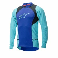Bluza Alpinestars Drop 2 long Sleeve Jersey blue/stratos/aqua L
