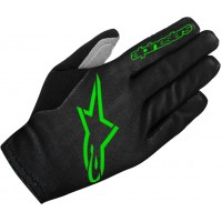 Manusi Alpinestars Aero 2 black/bright green M