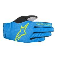 Manusi Alpinestars Aero 2 bright blue/acid yellow S