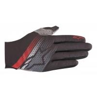 Manusi Alpinestars Predator black/steel gray/red L