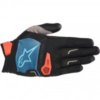 Manusi Alpinestars Drop Pro poseidon blue/energy orange L