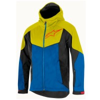 Jacheta Alpinestars Milestone 2 Jacket bright blue/acid yellow XL