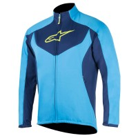 Jacheta Alpinestars MID LAYER bright blue/deep blue M