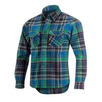 Camasa Alpinestars Slopestyle Shirt blue tartan M