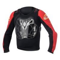 Armura Alpinestars Youth Bionic MTB Jacket black/red S/M