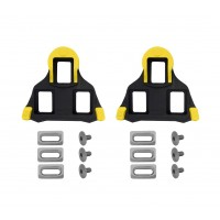 Placute pedale sosea Shimano SM-SH11 galben/negru