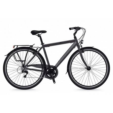 Bicicleta Shockblaze Lucky 6v Man gri mat 2018 50 cm