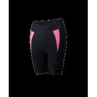 Pantaloni Scurti Dama BBB BBW-279 Omnium Negru/Roz M