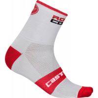 Sosete Castelli Rosso Corsa 6 Antracit/Rosu XXL 44-47
