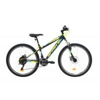 Bicicleta Sprint Active DD 26 380mm Negru/verde mat 2019