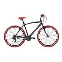 Bicicleta Adriatica Boxter RT 28 18V neagra 50 cm