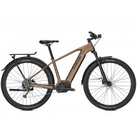 Bicicleta electrica Focus Aventura2 6.7 9G 27.5 brownm 2019