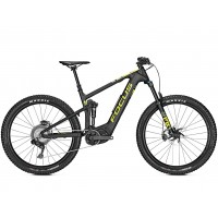 Bicicleta electrica Focus Jam2 9.7 Plus 11G 27.5 black/lime 2019