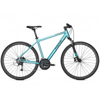 Bicicleta Focus Crater Lake 3.8 DI 27G icebluematt 2019 - 550mm (L)