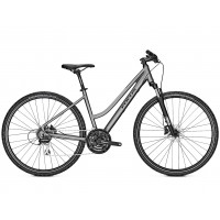 Bicicleta Focus Crater Lake 3.7 TR 24G torontogreymatt 2019 - 500mm (M)
