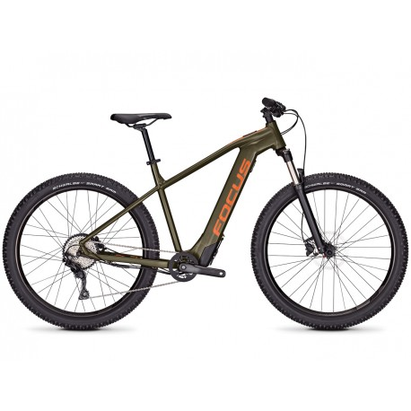 Bicicleta electrica Focus Whistler2 6.9 9G 29 moosgreen 2019 - 480mm (L)
