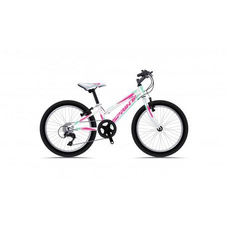 Bicicleta Sprint Calypso 20 Alb Lucios 2019